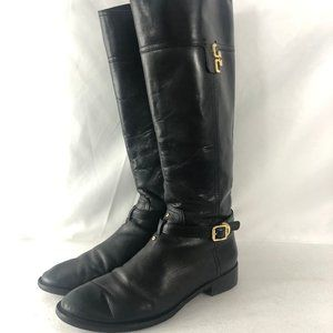 Tory Burch Women's Everly Knee High Riding Boots